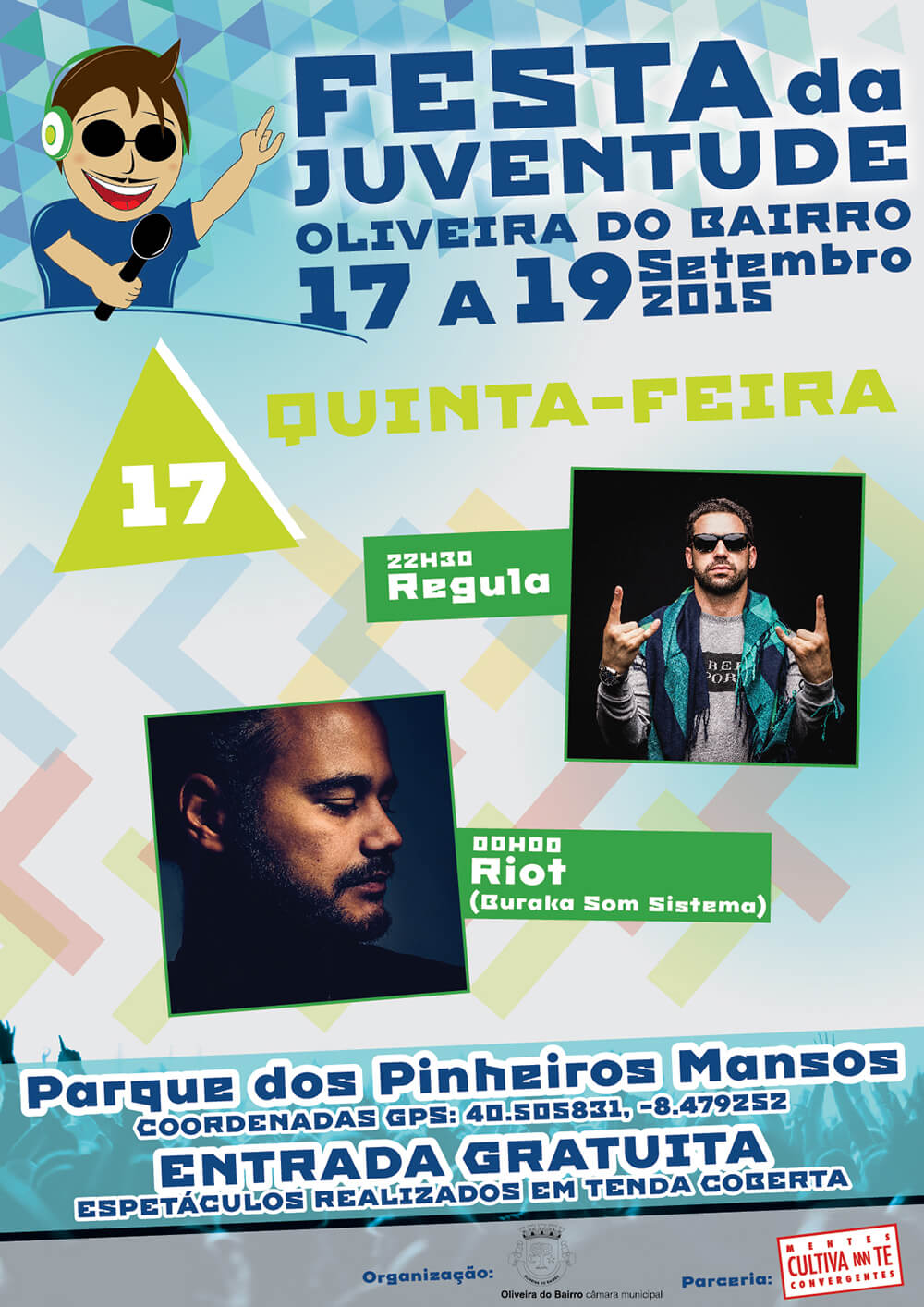 Festa da Juventude de Oliveira do Bairro - Poster for the 17th day | Luis Serra Freelancer