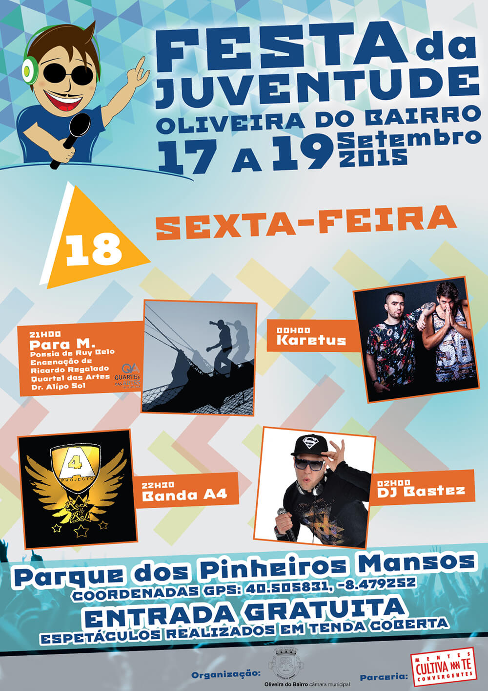 Festa da Juventude de Oliveira do Bairro - Poster for the 18th day | Luis Serra Freelancer