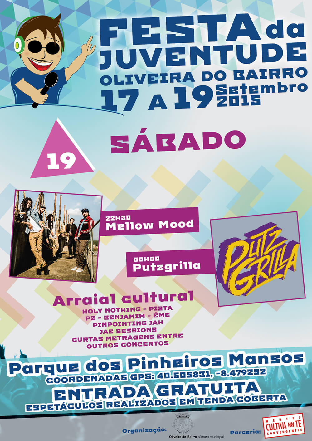 Festa da Juventude de Oliveira do Bairro - Poster for the 19th day | Luis Serra Freelancer