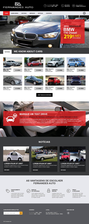 Fernandes Auto -    Luis Serra Freelancer